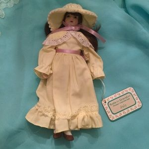 July Month's to Remember Porcelain Doll